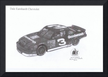 033 My concept of Dale Earnhardts #3 race car ---