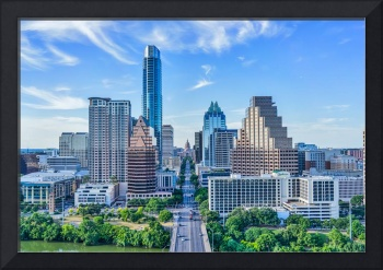 Austin Cityscape with the Texas Capital