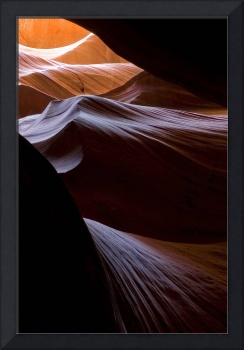 Waves of Color in Antelope Canyon