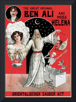 The Great Original Ben Ali and Miss Helena