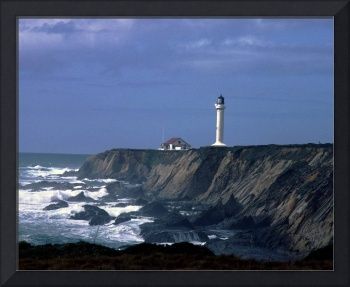 Lighthouse in Blue