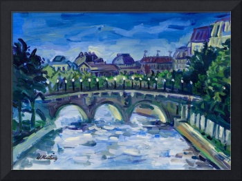 Keating PARIS FRANCE LANDSCAPE Fine Art Print