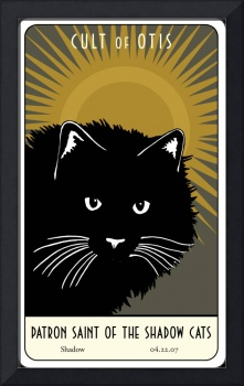Saint Shadow:  Patron Saint of the Shadow Cats