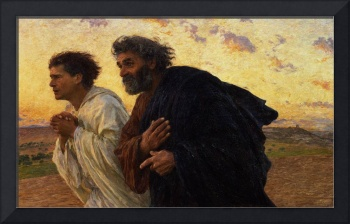 The Disciples Peter and John Running to the Sepulc