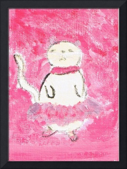Ballerina Cat by Marie L.