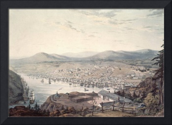 The Town and Harbour of St. Johns NewFoundLand