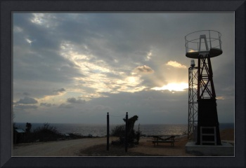 Cayman Brac: Lighthouse at Sunrise (1 of 3)