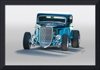 1934 Ford Three Window Coupe II