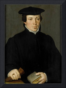 Portrait of a Young Minister, Pieter Pourbus, c. 1