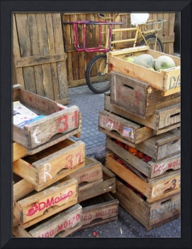 Bike and Crates