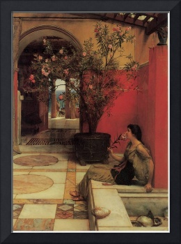 Sir Lawrence Alma-Tadema's The Oleander