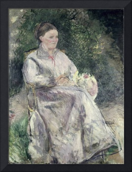 Portrait of Julie Velay, Wife of the Artist, c.187