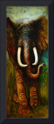 Elephant Oil Painting