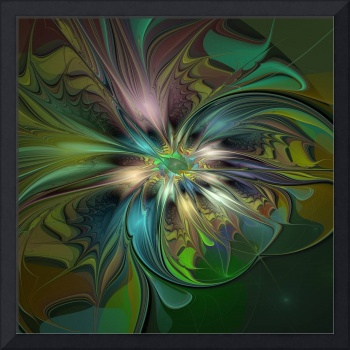 Colorful Abstract Fractal Art
