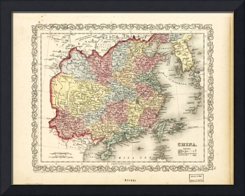 Map of China (1856)