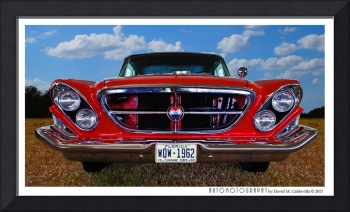 1962 Chrysler 300H Front End Color