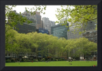 Spring at Bryant Park