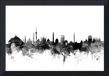New Delhi India Skyline