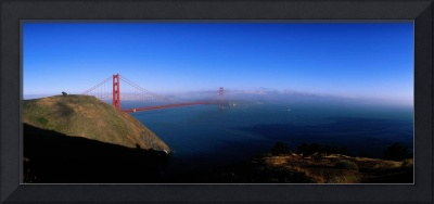 Golden Gate Bridge with Fog San Francisco Califor