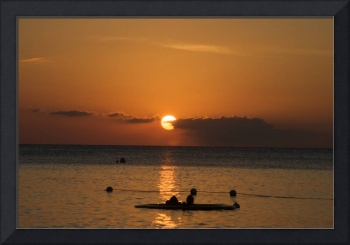 Cayman Sunset Swim