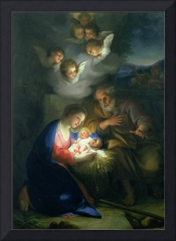 Nativity Scene by Anton Raphael Mengs