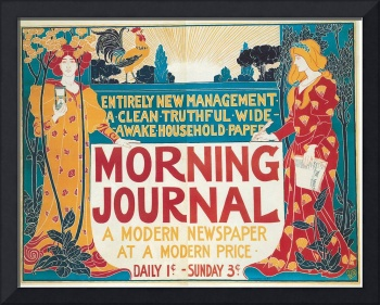 Morning Journal by Louis John Rhead