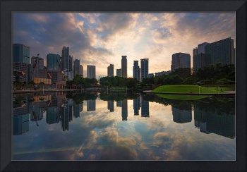 Blissful Sunrise at KLCC Park