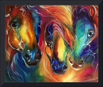 COLOR MY WORLD WITH HORSES