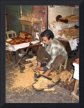morocco wood turner