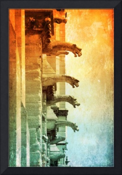 Gargoyles with Textures and Colors