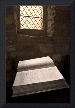 Bible In A Church, Rosedale, North Yorkshire, Engl