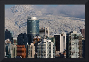 Early Snowfall in Vancouver