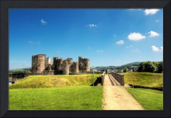 Caerphilly Castle 8