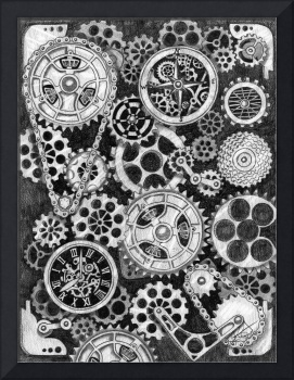 Time and Direction Steampunk