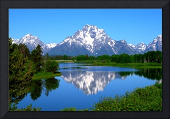 Mount Moran on Snake River