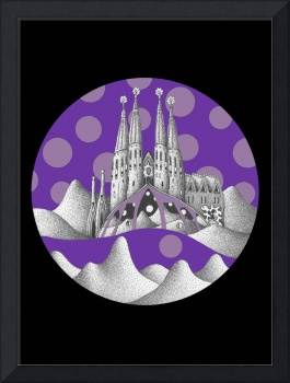 sagrada unfamiliar (purple sky)