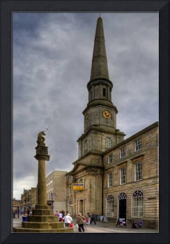Mercat Cross and Guildhall