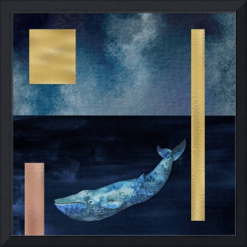 Blue Whale: Gold, Copper And Deep Blue