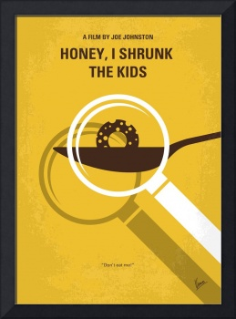 No641 My Honey I Shrunk the Kids minimal movie pos