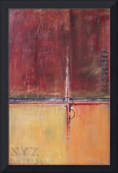 Cargo - Red and Gold Art - Contemporary