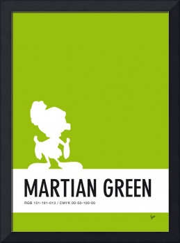 No15 My Minimal Color Code poster Marvin