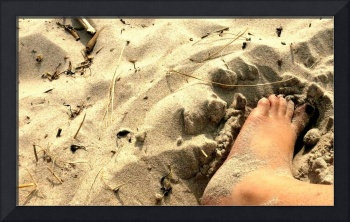 Finding Comfort in the Sand
