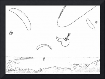 Pencil - Paragliding
