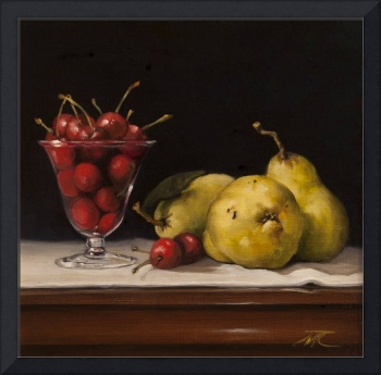 cherries and pears