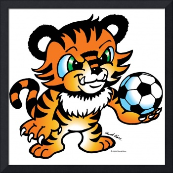 Tiger Soccer Ball