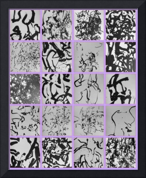 ABOUT MY CALLIGRAPHY MOSAIC 3 BY RICHARD LAZZARA