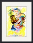 Marilyn Monroe 3 by David Caldevilla