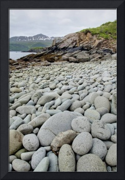 Rocky Beach in Geographic Harbor, Katmai National
