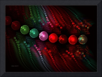 String of Pearls ~ Abstract