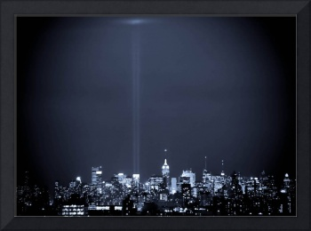 9-11 2008 WTC Towers Tribute in Light